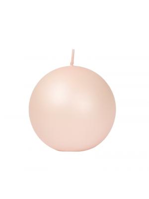 Balmuir pallokynttilä - hennon vaaleanpunainen
